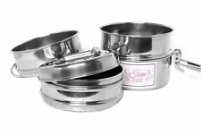 TRADITIONAL STAINLESS STEEL KIDS BENTO INDIAN TIFFIN LUNCH BOX  2 / 3 / 4 TIER