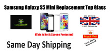 FRONT TOP GLASS REPLACEMENT SCREEN FOR SAMSUNG GALAXY S5 Mini