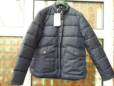 BNWT Womens Barbour Pumice Quilted Jacket Navy Blue UK12 rrp£149 LQU0784NY91