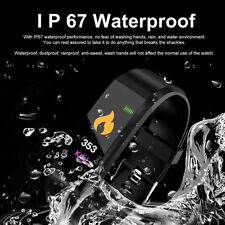 Hot Sports Blood Pressure/Oxygen Heart Rate Fitness Smart Watch Bracelet Tracker