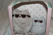 *NIB* GUND Cool pusheen and Stormy plush *COLLECTORS SET*  *BRAND NEW IN BOX*