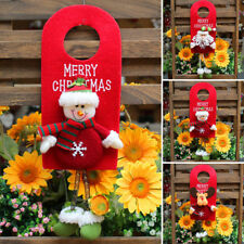 Snowman Santa Claus Door Hanging Christmas Tree Home Decor Ornaments Xmas Gift