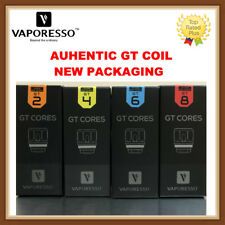 100% AUTHENTIC VAPORESSO1 NRG GT CORE Coil GT2 GT4 GT6 GT8 For Revenger SWAG