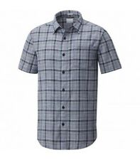 Columbia Camisa UNDER EXPOSURE YARN DYE SS Hombre - cuadros azules