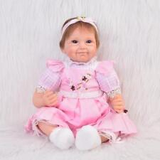Reborn Baby Girl Doll Handmade Realistic Silicone Vinyl dolls Babies Gifts Toys