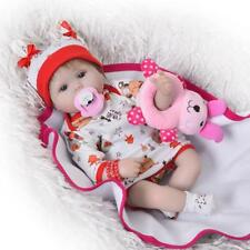 Reborn Baby Doll Soft Silicone Vinyl Realistic Dolls Lifelike Babies Gifts Toys