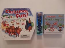 Christmas Fun Activity Box, Kaleidoscope or Inflatable Rudolf's Ring Toss Game