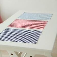 Cotton Cloth Napkins Plaid placemat 30*40cm/Home Restaurant Cafe Table Napkin We