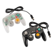 Wired Video Game Controller Gamepad For Nintendo Gamecube Console Black/White