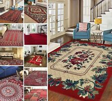 New Red Small Extra Large Shaggy Modern Traditional Soft Area Rugs Carpet Rug