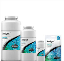 SEACHEM PURIGEN FILTER MEDIA REMOVES ORGANIC WASTE FROM AQUARIUM , FISH TANK