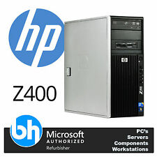 HP Z400 Workstation Xeon Quad Core Up to 16GB RAM Windows 10 Tower Customisable