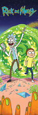 Rick and Morty - Portal - Türposter Plakat Druck - Größe 53x158 cm
