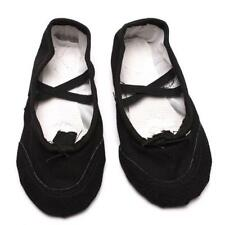 Soft Ballet Dance Shoes Canvas Adults Children Girl Size Yoga Slippers New 8C