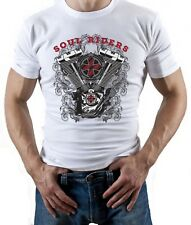 Motorcycle Club - Mens Motorbike T-Shirt Biker American Motorcycles Bike