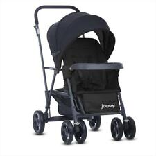 Joovy Caboose Graphite Stand On Tandem Baby Stroller Amber Black Red Appletree