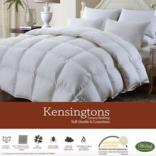 LUXURIOUS 50/50 Hungarian Goose Feather & Down Duvet Quilt 400 T/C Cotton Cover