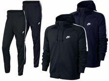 Nike TRIBUTE Full Polyester Tracksuit Zip Hoody Jogging Bottoms Joggers