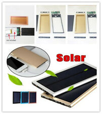 USB LCD Solar Power Bank Charger Case Shell Kit For Mobile Phone Tablet 9517