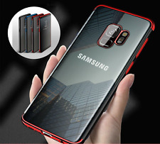 Luxury Ultra Slim Shockproof Silicone Clear Case Cover for Samsung Galaxy S9 S8