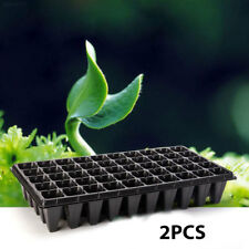 Container Seedling Tray Durable Storage 2pcs Seedling Starter Nursery Pots CDFC