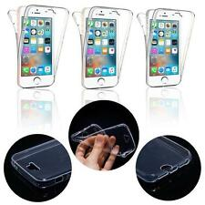 - COQUE SILICONE TRANSPARENTE PROTECTION 360° INTEGRAL AVANT + ARRIERE PR IPHONE