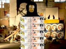 BANKSY - DI FACED TENNER -  Highest Quality Archival Heavyweight Print -In A3 A2