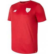 NEW BALANCE CAMISETA DE FÚTBOL OFICIALES ATHLETIC CLUB BILBAO 19 MC ALGODÓN