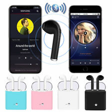 Bluetooth i7S TWS Twins Auricular intrauricular inalámbrico para  Samsung iPhone
