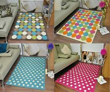 Circle Spotts Rug Extra Large Funky Modern Soft Mat Area Rugs Cheap Carpet Mats