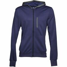 adidas Men's ClimaLite Full Zip Knitted Running Fitness Hooded Jacket AA6379