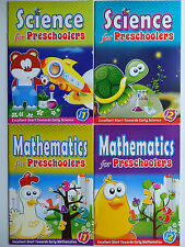 PreSchool Educational Book Select Science Book 1 or 2 or Mathematics Book 1 or 2