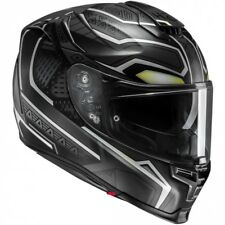 HJC CASCO INTEGRALE  IN FIBRA PIM RPHA 70 BLACK PANTHER MARVEL MC5SF VARIE TG