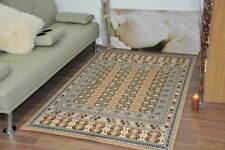Extra Large Beige Modern Traditional Bokhara Area Rugs Carpet Mats Cheap Rug