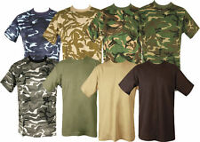 ARMY MILITARY COMBAT CAMOUFLAGE CAMO T SHIRT COTTON Fishing Hunting SHOOTING