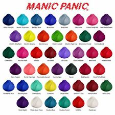 MANIC PANIC SEMI PERMANENT HAIR COLOUR, BLEACHING KIT + FAST FREE DELIVERY