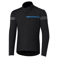 Maillot Shimano Performance Windbreak Manga Larga Negro