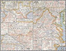 National Geographic Maps Battles of the Civil War Wall Map