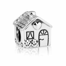 Originale Charm Argento Sterling S925 Charm Beads Sweet Home Family Charms Bead