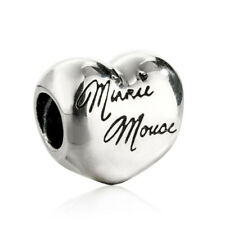 Originale Charm Argento Sterling S925 Jewelry Charm Beads Disney Mouse Signature