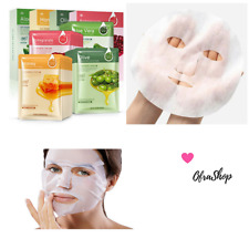 Facial Mask Sheet 10 pack Korean Cosmetic Essence Face Moisture Hydrating