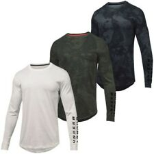 Under Armour Hombre Sportstyle Estampada Suéter Transpirable Ls Camiseta 37%