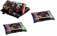 BNWT RARE VERSACE For H&M Home Velvet Japanese Bed Bedspread Throw Cushions
