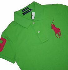 Ralph Lauren Mujer Big Pony Stretch The Skinny Camisa Polo TALLA: XS