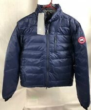 NEW CANADA GOOSE LODGE JACKET MENS 5056M S-XL DOWN AUTHENTIC HOLOGRAM BLUE