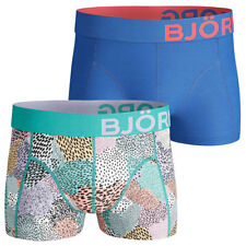 Bjorn Borg Painted Animal Fitted Soft Stretch Boxer Briefs 2-Pack 26% OFF RRP