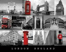 London - England - colourlight Städte Mini Poster Plakat Druck