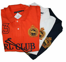 Polo Ralph Lauren Mujer Rl Club Camisa Polo Varias Tallas & Colores