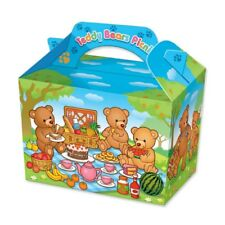 Teddy Bears Picnic Party Food Boxes ~ Trick or Treat Sweet Meal Box Bag