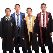 Harry Potter Hogwarts Robe Adults Cosplay Costume School Cloak Cape
